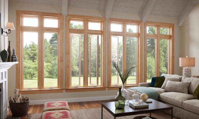 деревянные оконные рамы